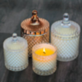 Taking care of candles, luxury candles, natural candles, wick trimming, candles snuffer, trim the wick, keep candle out of direct sunlight
