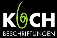 KOCH Beschriftungen: Ihr Fachunternehmen für Beschriftung und Werbung