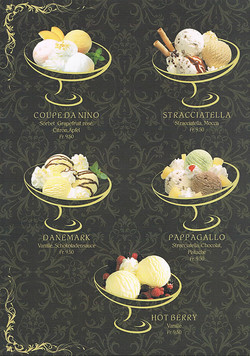 Dessertkarte 1