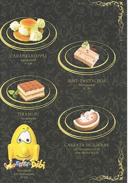 Dessertkarte 3