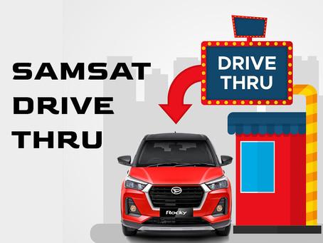 Samsat Drive Thru : Bayar Pajak Lebih Cepat dari Memesan Makanan Cepat Saji?