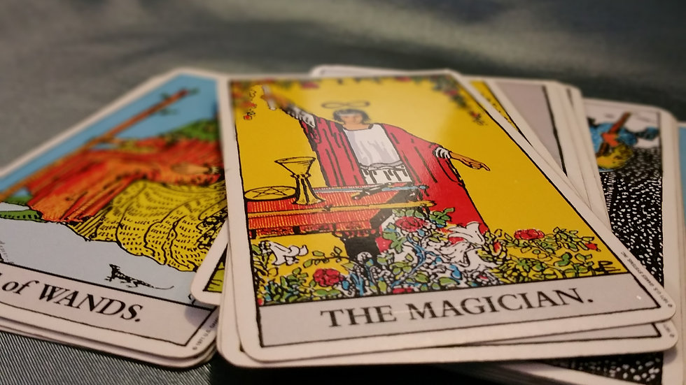 Psychic Tarot via Email - Ask 3 Questions!