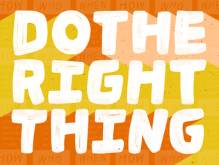 Do The Right Thing - Amber Esner
