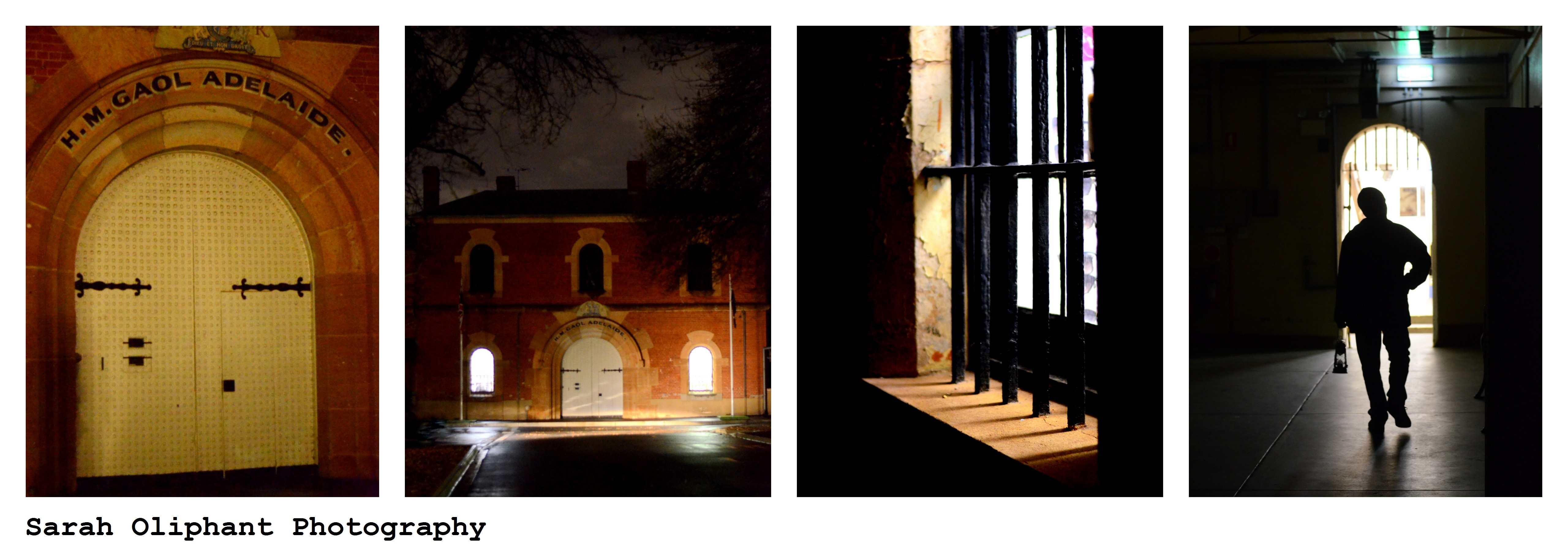 Adelaide Gaol Collage