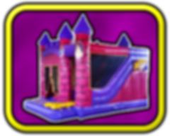 Princess Combi - JUMP Bouncy Castles