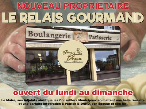 Nouveau propriétaire à la boulangerie de Saint Germain Les Vergnes.
