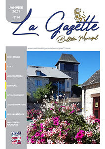 BULLETIN MUNICIPAL LA GAZETTE 14 2021 SAINT GERMAIN LES VERGNES