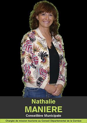 NATHALIE MANIERE CONSEILLERE MUNICIPALE SAINT GERMAIN LES VERGNES