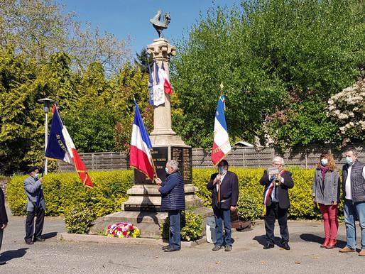 COMMÉMORATION DU 8 MAI 1945 À SAINT-GERMAIN-LES-VERGNES