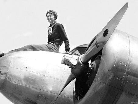 Amelia Earhart - neustrašiva pilotkinja i rekorderka!