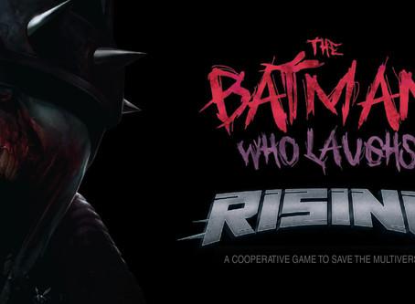 The Batman Who Laughs Rising je društvena igra za sve fanove Mračnog viteza!