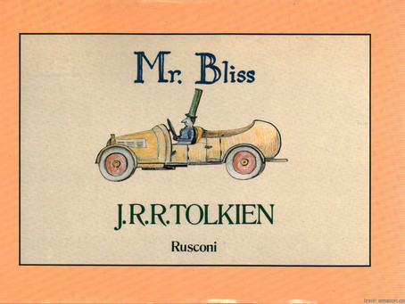 Tolkienova manje poznata slikovnica Mr. Bliss!