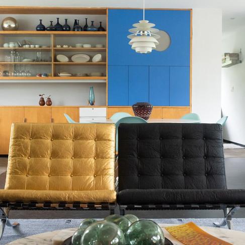 pinatex barcelona chairs