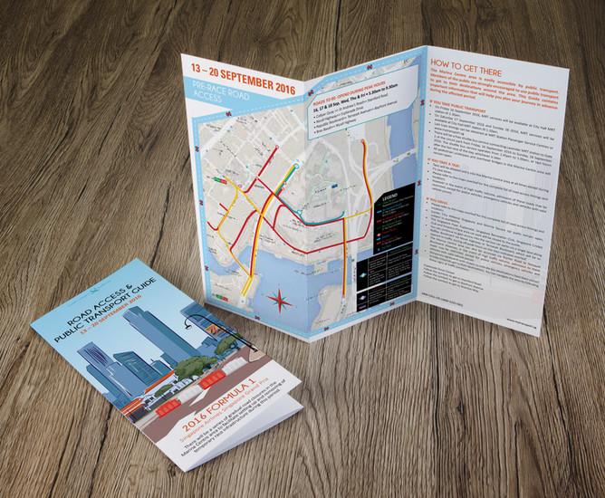 Land Transport Authority Map