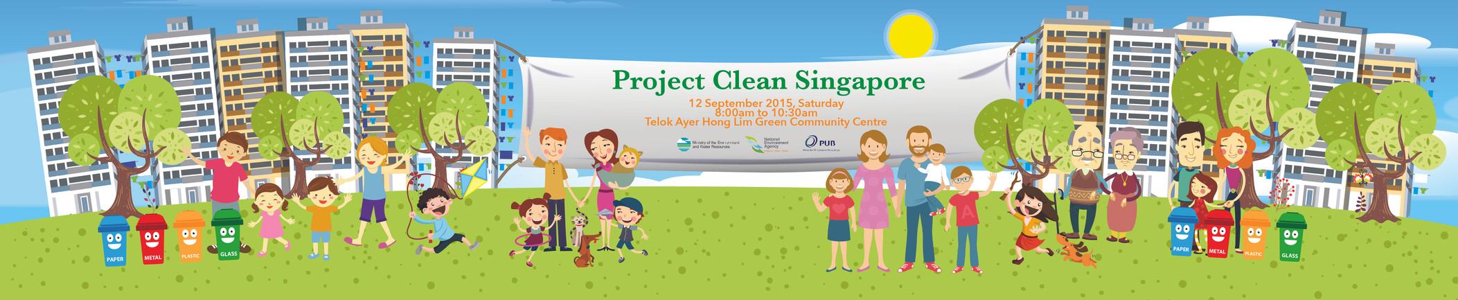 Project Clean Singapore Concept