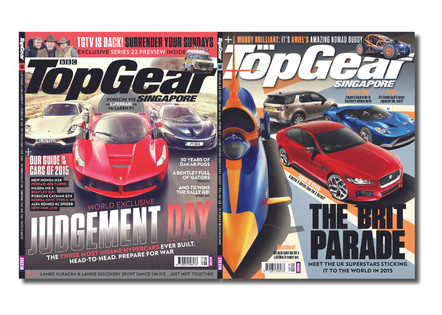 TopGear Singapore Magazine