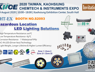 Welcome to Kaohsiung Chemtech & Instruments Expo 2020. 8/6~8/9 & Visit THT-EX Booth No. S2093