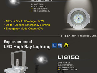 New Product! Explosion-proof LED Light with Battery Backup (Emergency Mode)!