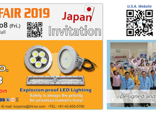Please visit us at Tokyo Lighting Fair 2019