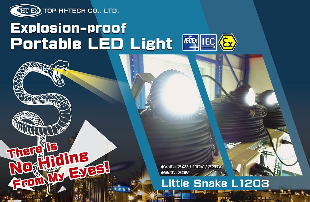 Explosion-proof Portable LED Light - Model L1203