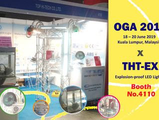 Welcome to OGA 2019! Please visit THT-EX's booth No. 4110