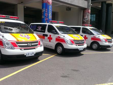久鑫科技股份有限公司持續投入公益,捐助編號第20-22三部救護車給桃園地區