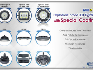 Hazardous Area Lighting with Special Coating can Meet the Needs in Different Harsh Environments!