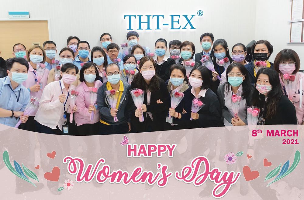 2021國際婦女節快樂_久鑫科技