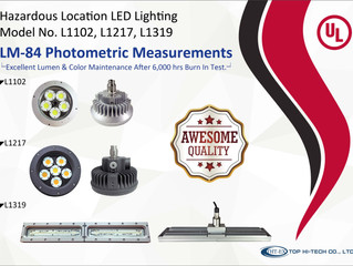 THT-EX Explosion-proof AC-IN LED Lights Received Outstanding LM-84 Testing Result!
