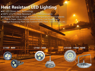 The World's First Driver-less LED Lighting with the advantage of 100°C Heat Resistant!