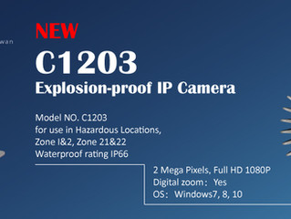 New Product─Explosion-proof IP Camera