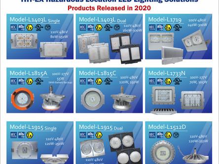 久鑫防爆LED燈-2020年產品回顧