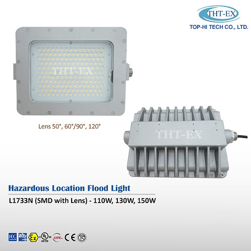 【DC in】Hazardous Location Flood Light L1733N (SMD with Lens)
