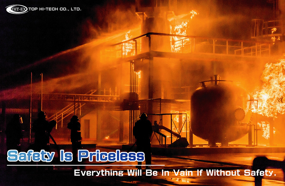 Safety is Priceless. Everything will be in vain if without safety.