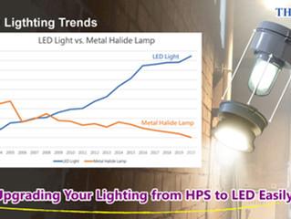 The Trends of LED Lighting & HPS Lamp