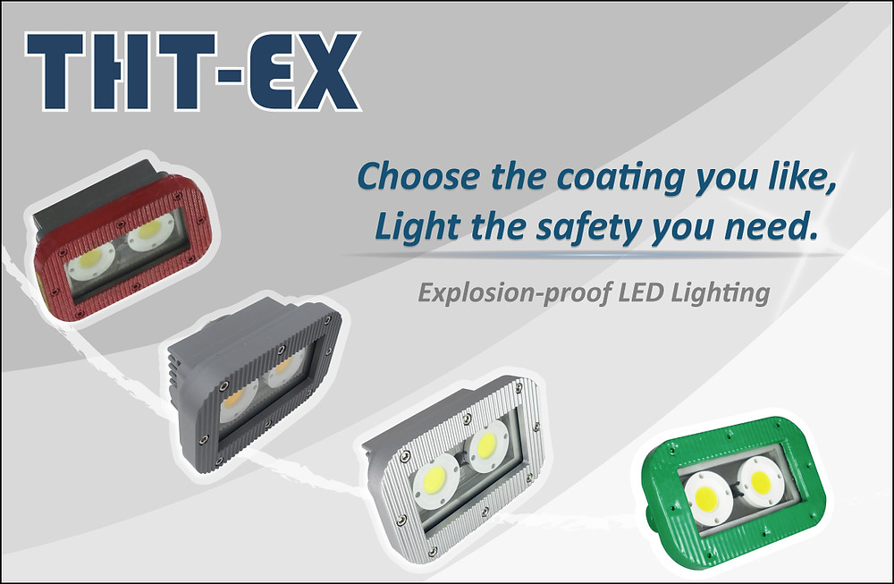 Explosion proof LED Lighting with Different Coating