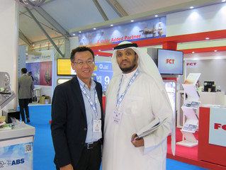 The last day of ADIPEC 2019! Come and find new technologies for Oil & Gas industry!