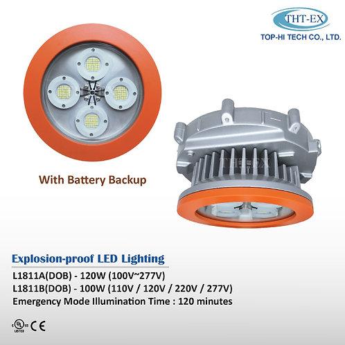 Explosion-proof LED Light with Battery Backup L1811A/B (DOB)