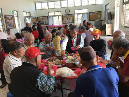 7th Banquet for Elderly People