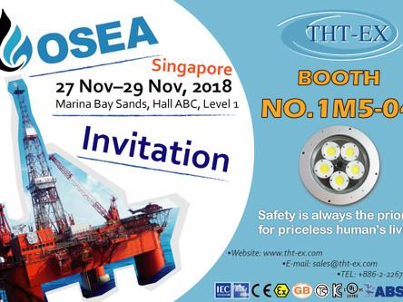 Please visit us at OSEA 2018, Nov 27 - Nov 29, Marina Bay Sands, Singapore_THT-EX