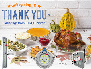 Happy Thanksgiving! THT-EX thanks for your accompanying all the way!