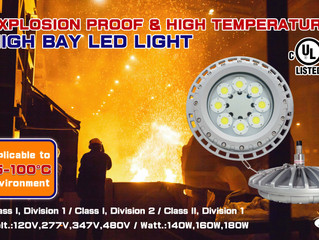 Explosion-proof & High Temperature High Bay LED Light-Model L1512D