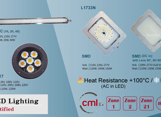THT-EX explosion-proof LED lights were granted Japanese explosion-proof certification.
