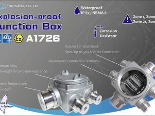 【New Product】 Explosion-proof Junction Box Model A1726 for Hazardous Areas