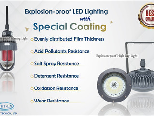 Do you know that coating is one of key element which affect the life of lightings?