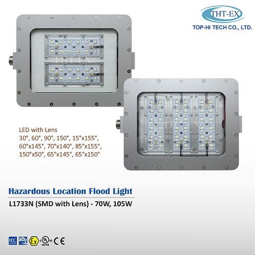 【DC in】Hazardous Location Flood Light L1733N (Lens with NEMA Beam Angle)