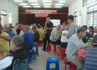 Banquet for elderly people
