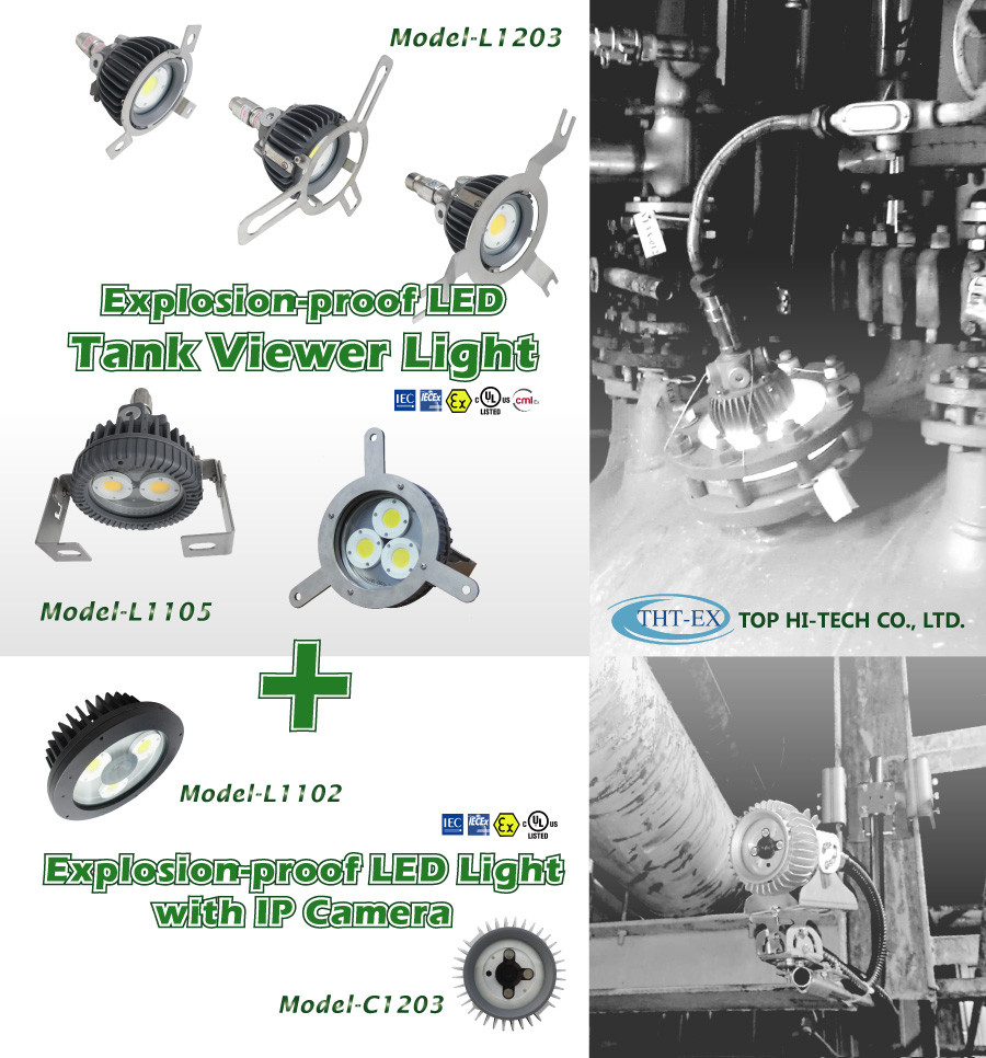 Explosion proof LED Tank Viewer Light