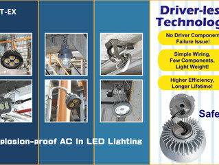 The Advantages of Driver-less Explosion-proof LED Lightings