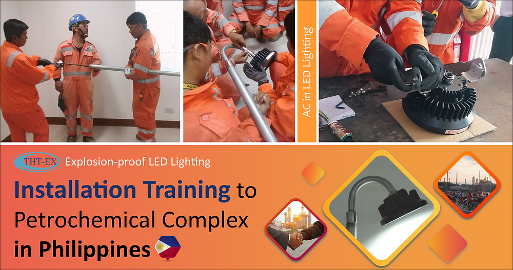 Installation Training to Petrochemical Complex in Philippines